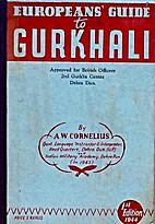 European's Guide To Gurkhali or (Nepali…