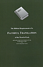 The Biblical Requirements of a Faithful…