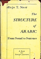The structure of Arabic : from sound to…