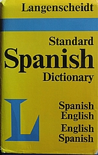 Langenscheidt's Standard Spanish-English,…