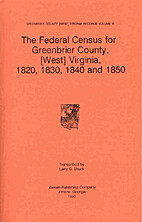 The Federal Census of 1820, 1830, 1840 &…
