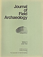 Journal of field archaeology Vol. 10,…