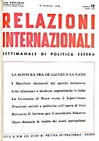 12. 1-25 : Relazioni Internazionali dal 1…