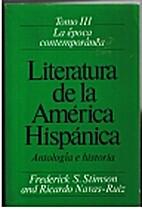 Literatura de la America hispanica :…