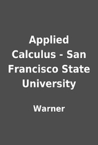 Applied Calculus - San Francisco State…