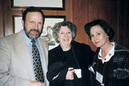 Author photo. Stephen & Carol Huber to the left
