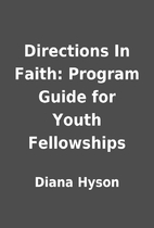 Directions In Faith: Program Guide for Youth…