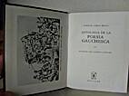 Antología de la poesía gauchesca by…