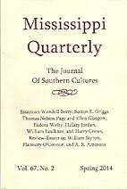 Mississippi Quarterly, The Journal of…