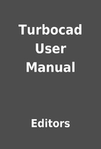 Turbocad User Manual by Editors