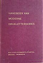 Handboek van moderne drukletterseries by N/A