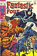 Fantastic Four [1961] #82 by Jack Kirby