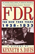 FDR: New York Years 1928-1933 by Kenneth S.…