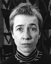 Author photo. Sara Lidman 1965 Foto: Lufti Ozkök