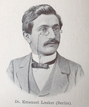 Author photo. From Wiener Schachzeitung 1904