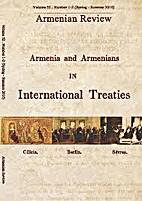 ARMENIA AND ARMENIANS IN INTERNATIONAL…