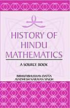 History of Hindu Mathematics ( two Vol. set)…