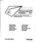 Theory and Practice, Vol. 14-15 by Frank…