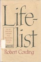 Life-List by Robert Cording