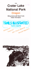 Trails Illustrated Map: Crater Lake National…