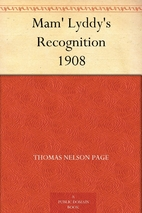 Mam' Lyddy's Recognition 1908 by…