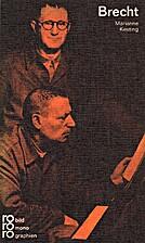 Bertolt Brecht by Marianne Kesting