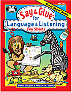 Say & Glue for Language & Listening Fun…