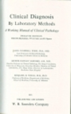 Clinical diagnosis by laboratory methods by…
