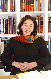 Author photo. Prof. Anne-Marie Slaughter. Photo credit: Denise Applewhite, 2004 (photo courtesy of Princeton University)