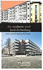 Die moderne Stadt Berlin-Lichtenberg: Ein…