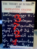 The Theory of Numbers and Diophantine…