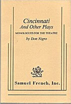 Cincinnati and Other Plays Monologues…