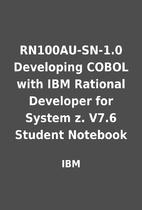 RN100AU-SN-1.0 Developing COBOL with IBM…