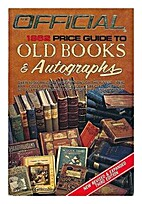 The Official Price Guide to Old Books &…