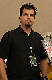 Author photo. Stumptown Comics Fest 2006, photo by Joshin Yamada