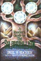 A reader's guide to The Silmarillion by Paul…