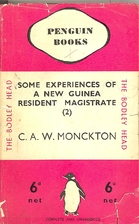 Some Experiences of a New Guinea Resident…