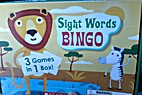 Sight Word Bingo Game (3 in 1) by Scholastic…