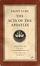 The Acts Of The Apostles by C.H. Saint…