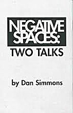 Negative Spaces: Two Talks (numbered limited…
