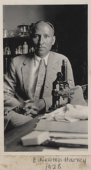 Author photo. E. Newton Harvey [credit: Arizona State University]