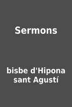 Sermons by bisbe d'Hipona sant Agustí
