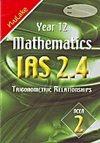 Year 12 Mathematics IAS 2.4 Trigonometric…