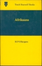 Teach yourself Afrikaans by M.P.O. Burgers