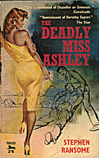 The Deadly Miss Ashley by Stephen Ransome