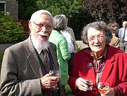Author photo. Dr Raymond Allchin and Bridget Allchin. Photo by Norman Hammond (2009).