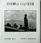 Indira Gandhi by Raghu Rai
