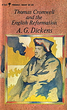Thomas Cromwell and the English Reformation…