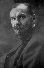 Author photo. Image from <b><i>Happy Humanity</i></b> (1912) by Frederik van Eeden