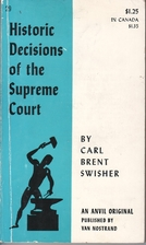 Historic Decisions of the Supreme Court by…